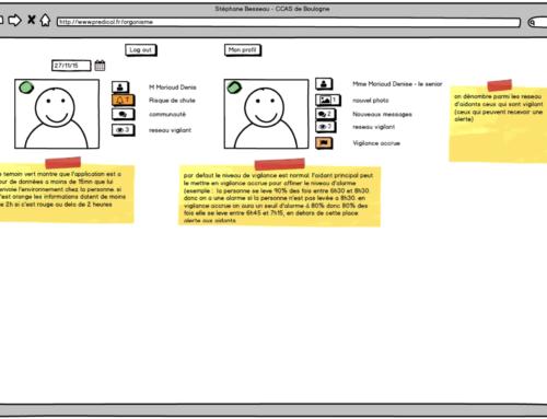 Développement de l'application d'alertes et de prévention