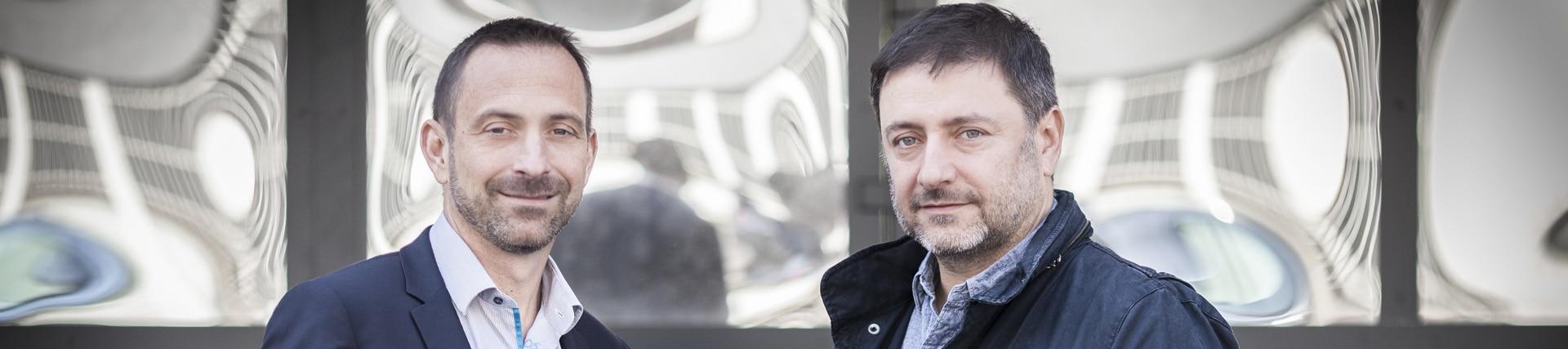 Stéphane Besseau et Stéphane Moriaud co-fondateur de Predical - nous contacter